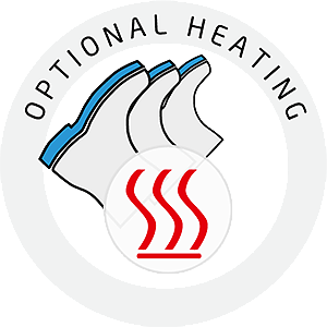 Optional heating