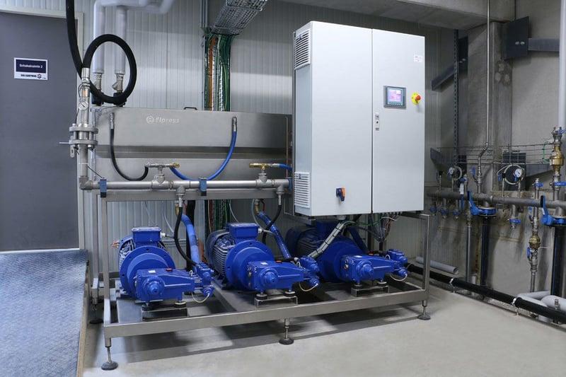 Instalacje wysokociśnieniowe MDC / HDC