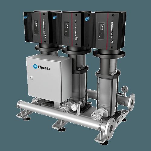 Druckerhöhungsanlagen LDC-Q (bis 12 Benutzers)