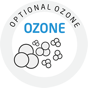 Optional ozone (to reduce unpleasant smells)