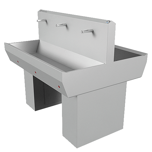 Elpress - references -Double wash basins EWG-3S-D