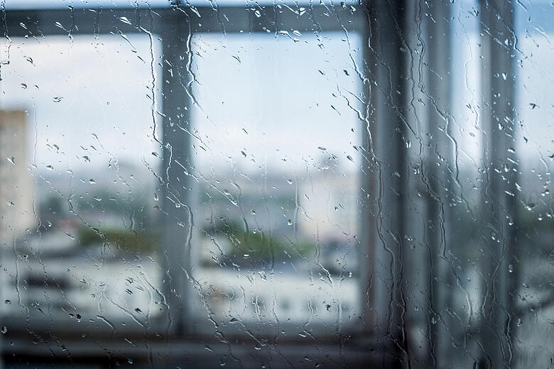 Rain Against Glass