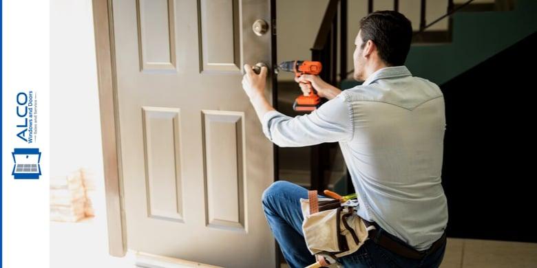 Install impact front door