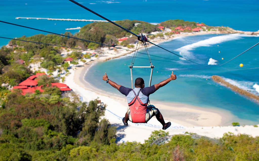 best-ziplining-locations-in-the-world-dragons-breath-ziplining-labadee, Haiti - ziplining locations