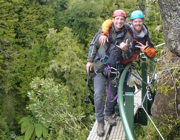 Rotorua activities tree walk