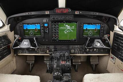 King_Air_200_with_G1000_and_MD302