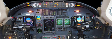 Citation Excel Honeywell Panel