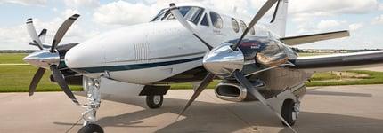 King Air Engines Header