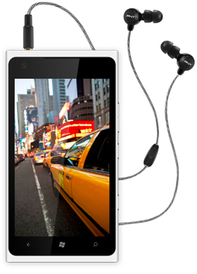 MIdtown Earphones Black