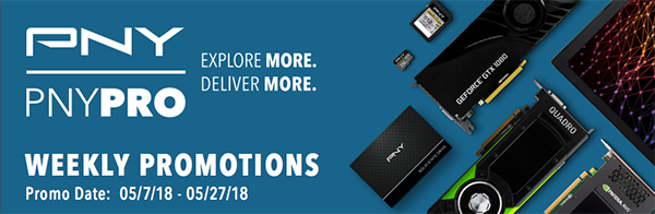 PNY Pro Weekly Promotions