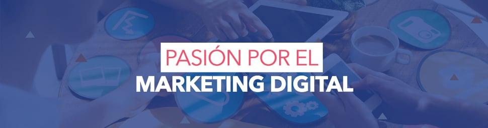 Pasión por el marketing digital