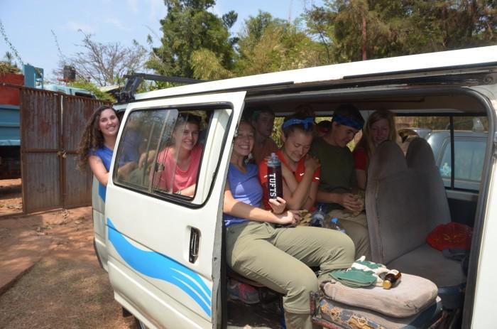 Rwandan van