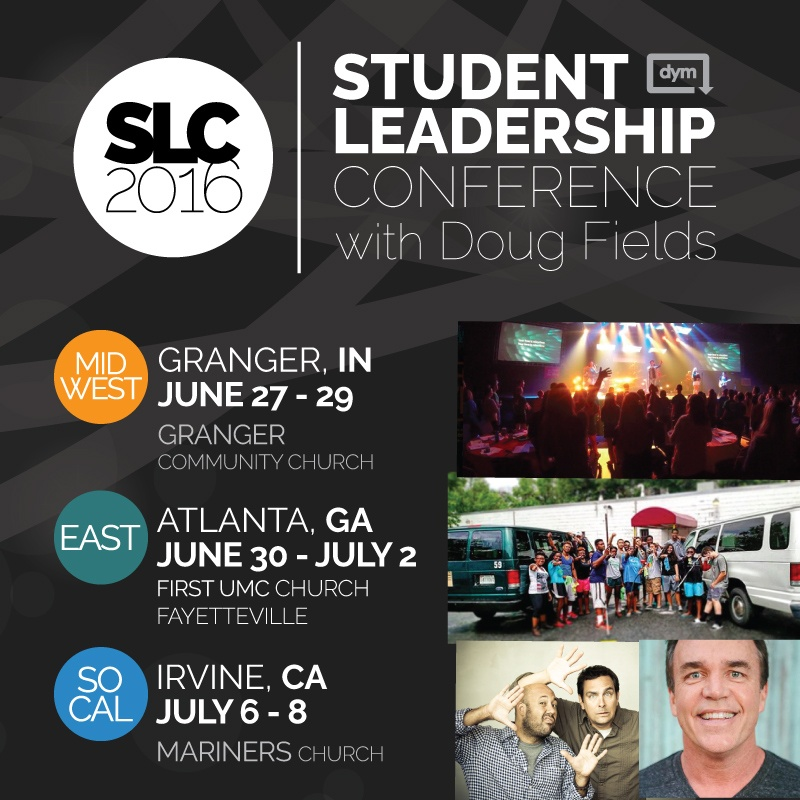 Get your tickets now for the Student Leadership Conference!