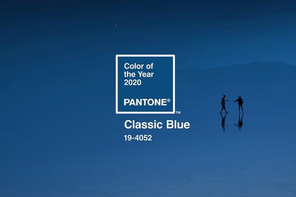 De Pantone kleur van het jaar 2020