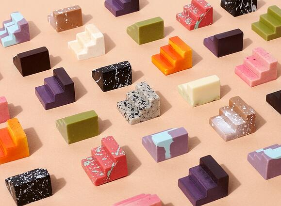 Colorful chocolates to beat Blue Monday