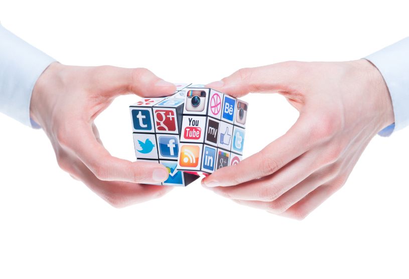 #B2B Social Media Marketing - Magazine cover