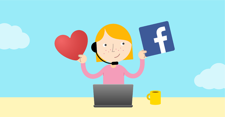 kundservice facebook