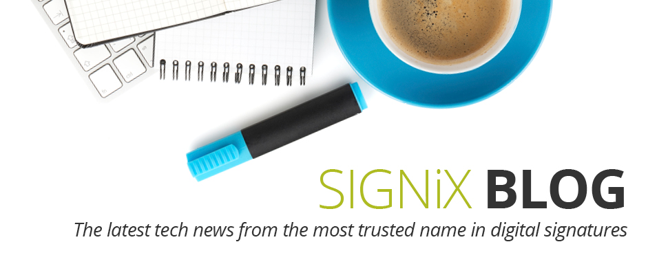 digital signature news blog