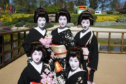Geisha ladies
