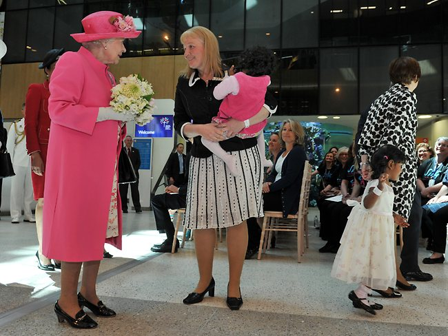 Her Majesty Queen Elizabeth II opens the Royal Children's Hospital, Melbourne