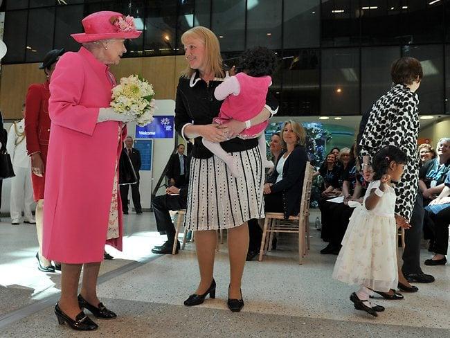 Her Majesty Queen Elizabeth II opens the Royal Children's Hospital, Melbourne