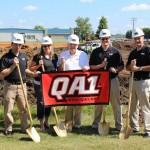 APPRO Development as design build general contractor at QA1 Groundbreaking