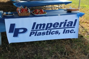 Lunch Reception at Imperial Plastics Groundbreaking, August 1, 2013