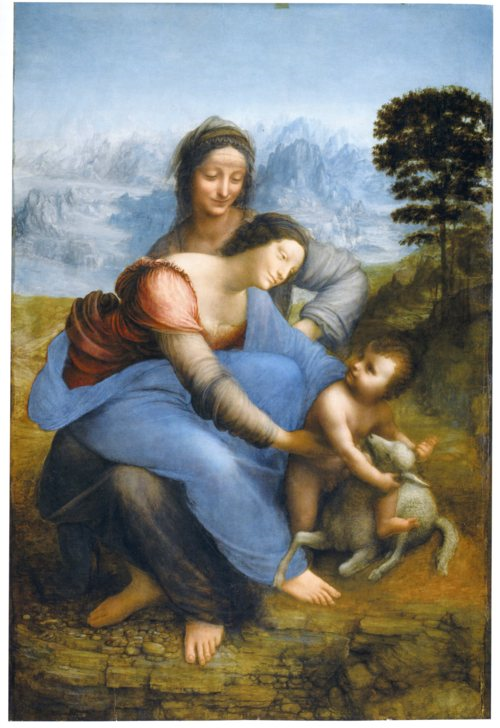 Leonardo Virgin and Child With Saint Anne resized 600