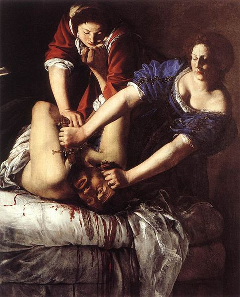 famous paintings Gentileschi