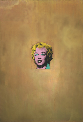 warhol gold marilyn