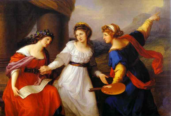 Famous Painters Angelica Kauffmann