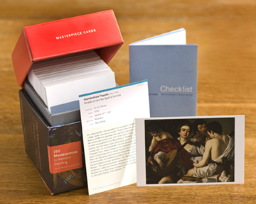 art history flash cards
