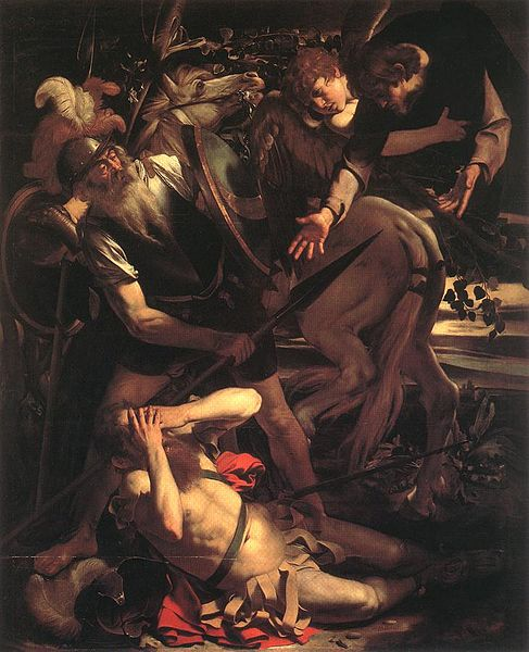 caravaggio conversion of saint paul