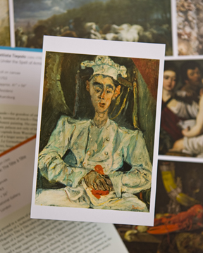 famous paintings flashcards