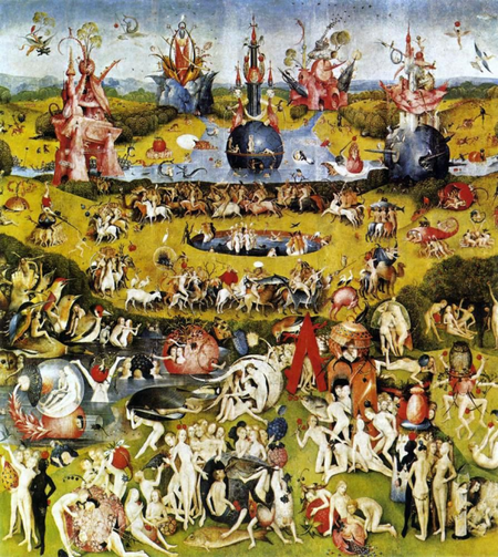 garden of earthly delights center