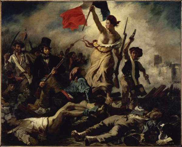 delacroix liberty leading people