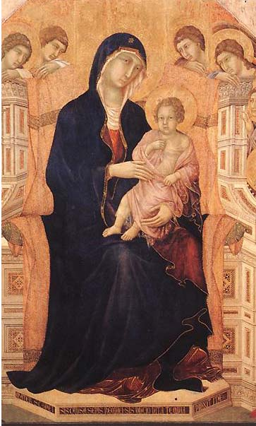 duccio maesta virgin