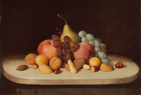 duncanson still life fruit nuts