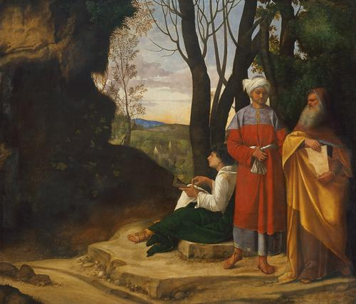 giorgione three philosophers