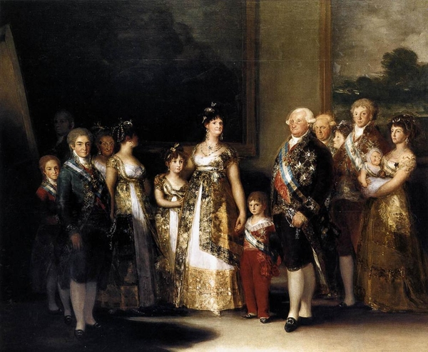 Famous Paintings Family Of Charles IV