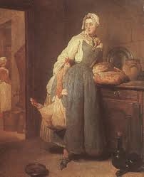 chardin return from market