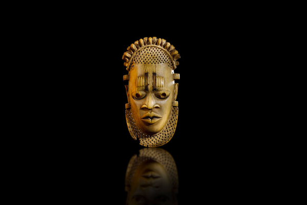 ivory african mask