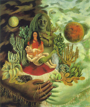 Kahlo love embrace universe resized 600