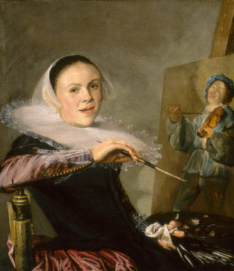 judith leyster self portrait