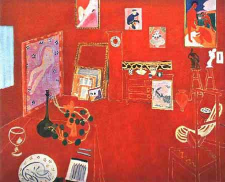 matisse red studio