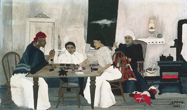 horace pippin domino players