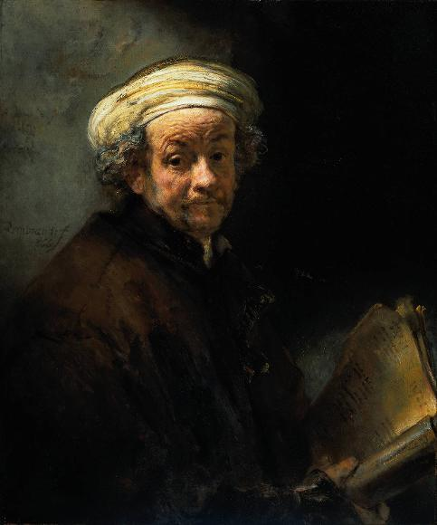 rembrandt self portrait as paul resized 600