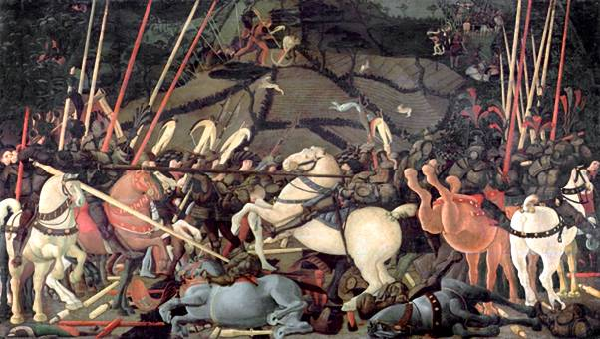 battle of san romano uffize