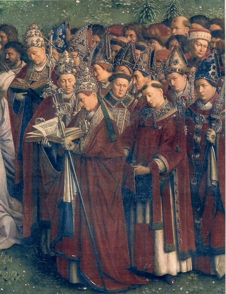 twelve apostles van eyck paintings