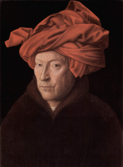 man in a red turban